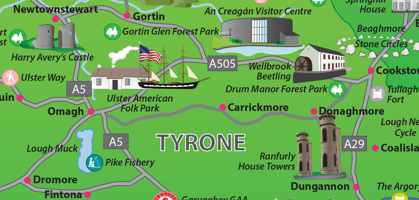 Ireland Tourism Map Related Keywords Ireland Tourism Map Long – Tourist Attractions Map In Ireland
