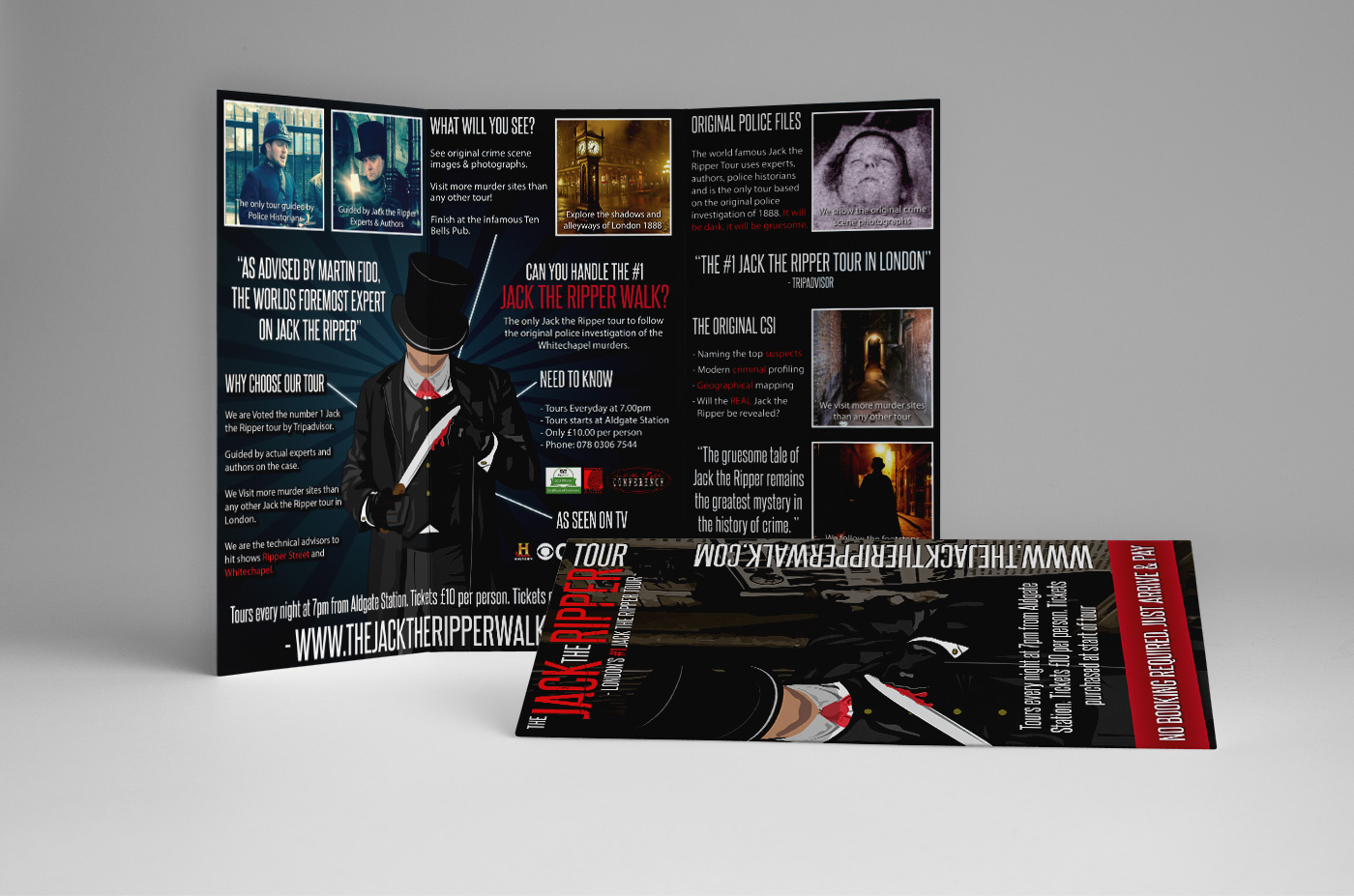 Trifold Flyer - Graphic Design, Northern Ireland