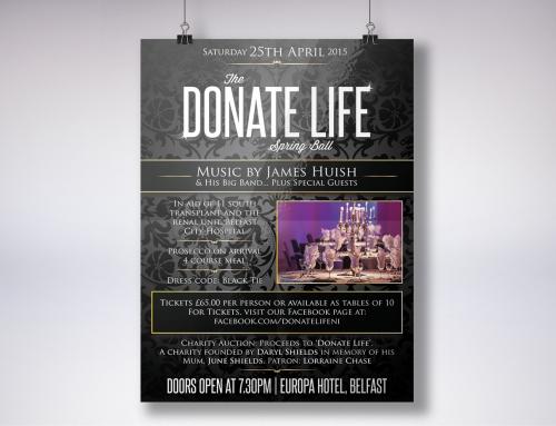 Donate Life Charity Branding