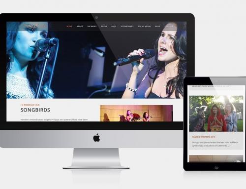 Songbirds Website
