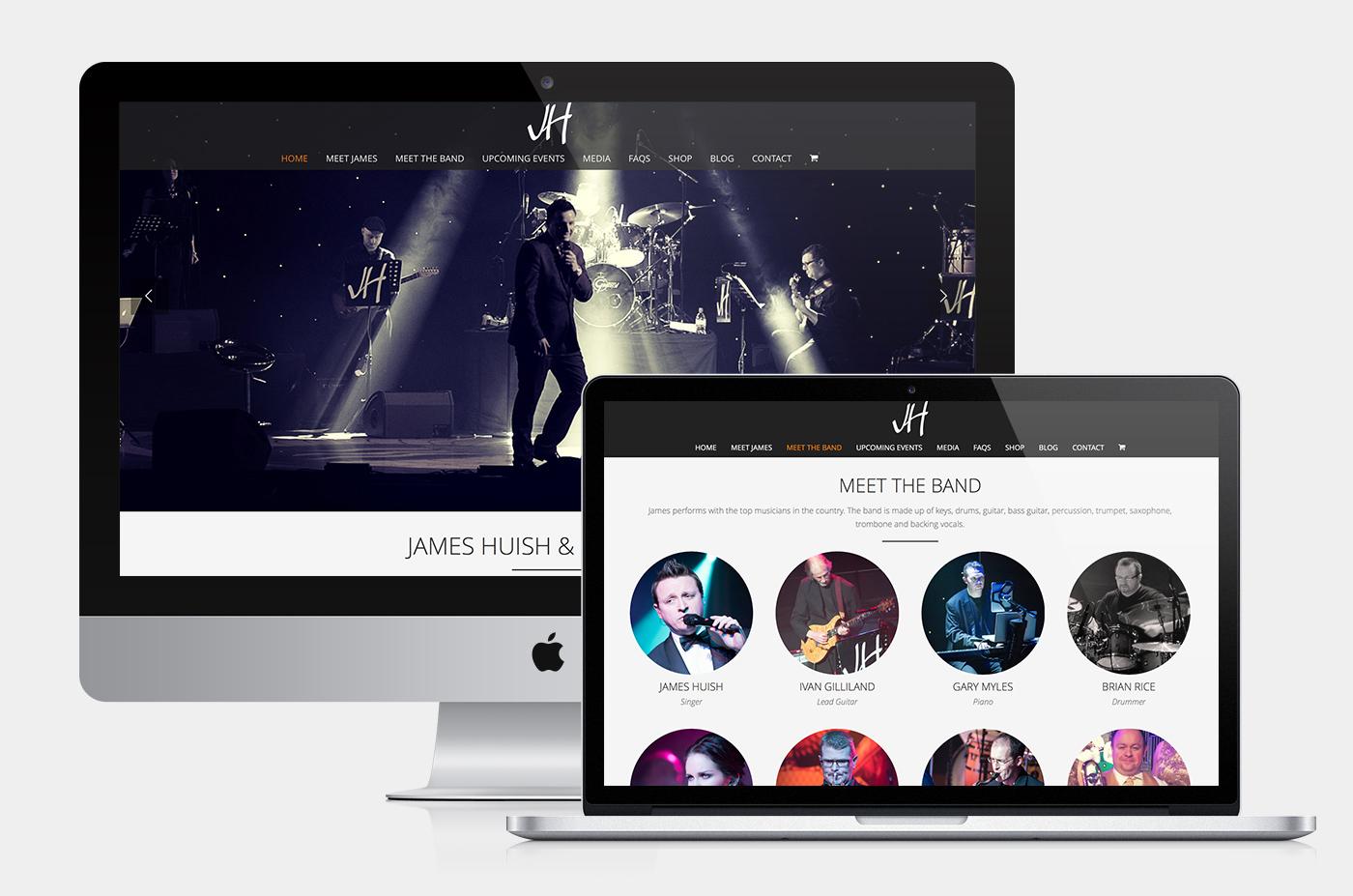 James Huish Website