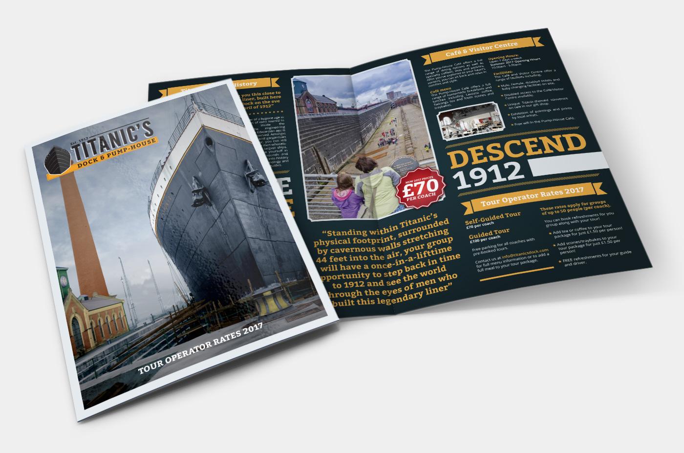 Titanic's Dock Operator Brochure